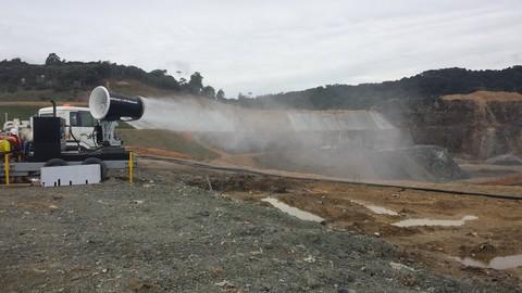 Sécurisation des poussières sur travaux de terrassement