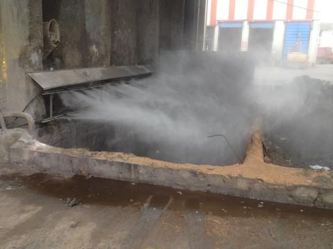 Sécurisation de fosse classe 1 avec rampes fixes par Natural Tech