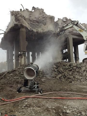 Spraystream 50i pour la démolition