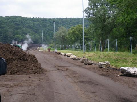 Barrière de traitement des odeurs en compostage par Natural Tech