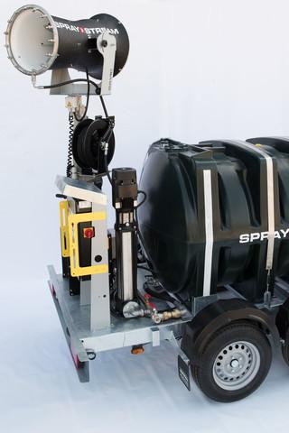 Mât télescopique de 5.5m directionnel Spraystream 25i Autonome Plus