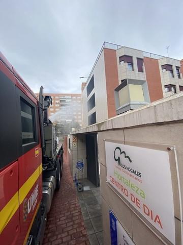 Désinfection avec Spraystream d'entrée d'un centre hospitalier